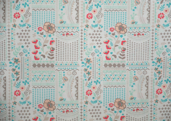 Fabric Wonderlust Field from Vintage Chic Capsules Collection, Art Gallery Fabrics, CAP-VC-5004
