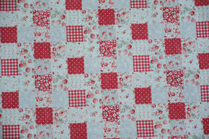 Quilting Fabric Lecien Shabby Chic Linens Checkers