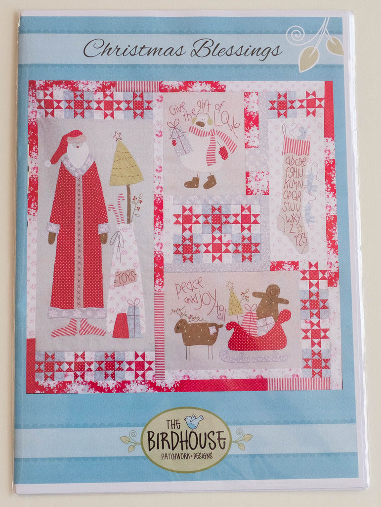 Christmas Blessings Pattern by The Birdhouse patchwork Designs PWDD304CB