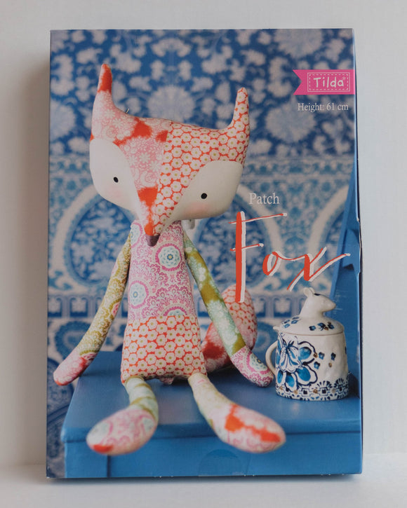 Tilda Kit, Harvest Collection, Colorful Patch Fox , Height 61 cm (24