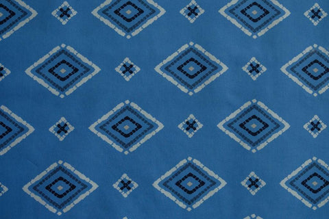 Fabric Zanafi Azure from Art Gallery, Mediterraneo Collection MED-32601
