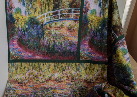 Fabric Garden from Robert Kaufman, Claude Monet Collection SRK-17076-238