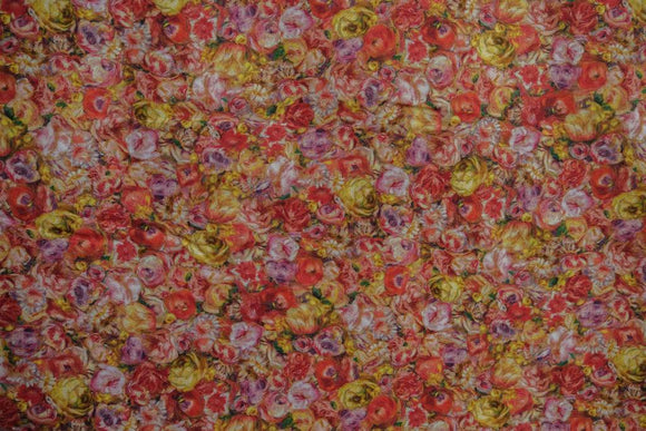 Fabric SRKD-17882-238 Garden from Renoir Collection, from Robert Kaufman