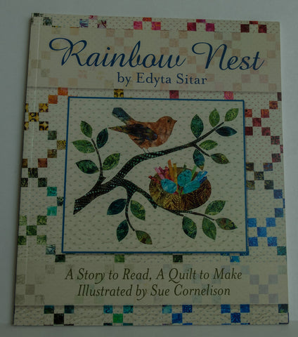 Edyta Sitar Rainbow Nest , Book with a Quilt Pattern.