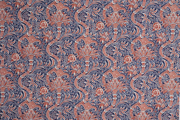 Fabric Indian, Color Medici, Montagu Collection from Morris & Co for Free Spirit, 8 8442425418 2.