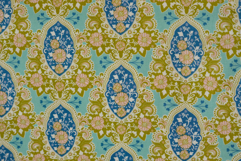 Fabric from Tilda, Sunkiss Collection, Charlotte Blue 100030