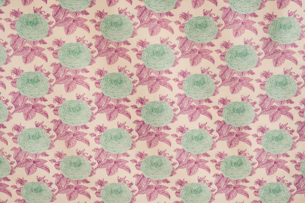 Fabric from Tilda, Sunkiss Collection, Grandma's Rose Lilac 100037