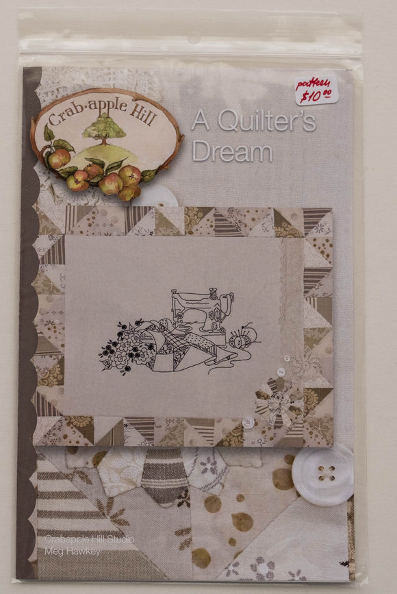Pattern #280,  a Quilter's Dream, by Meg Hawkey from the Crabapple Hill Design Studio