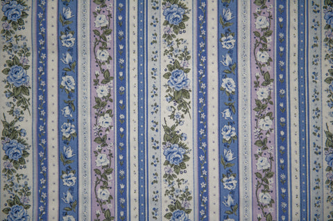 Cotton Fabric-Rapiecage Fleur From Rapi Collection, White, Made in Japan