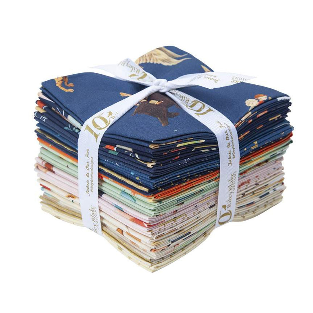 FQ-9080-20 Quilting Fabric Fat Quarter Bundle by Emily Winfield Martin from the Dream World Collection from Riley Blake Designs