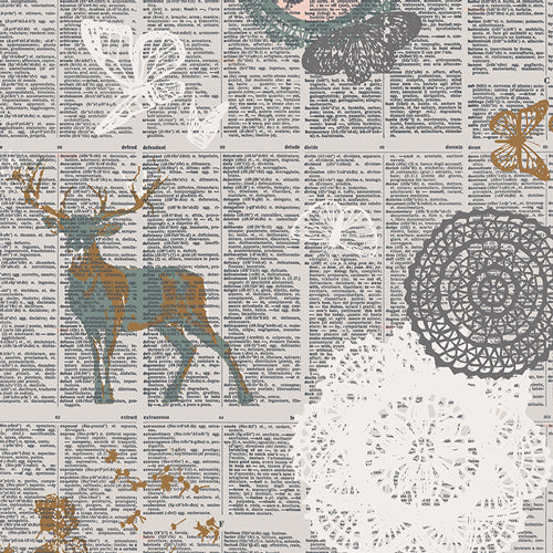 Fabric Doiland Gloss Sparkler from Art Gallery, Sparkler Fusion Collection FUS-SK-1309
