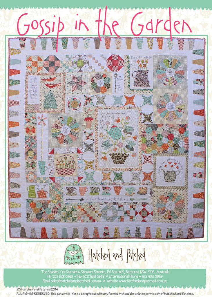 Pattern Gossip in the Garden from Hatched and Patched, HAPA403
