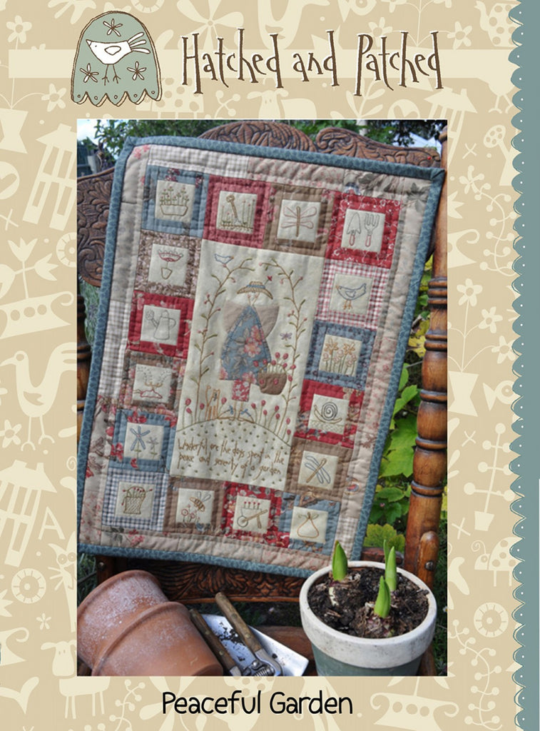 Pattern Peaceful Garden from Hatched and Patched, HAPP076