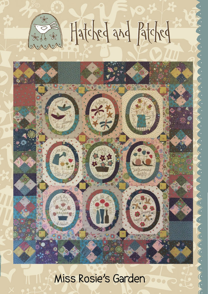 Pattern Miss Rosie's Garden from Hatched and Patched, HAPP102