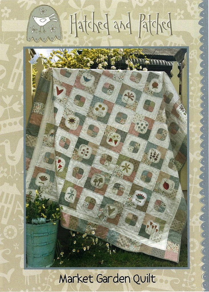 Pattern Market Garden Quilt from Hatched and Patched, HAPP112