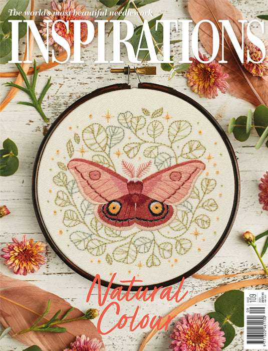 Inspirations - Embroidery Magazine from Australia, Issue#109, Natural Color