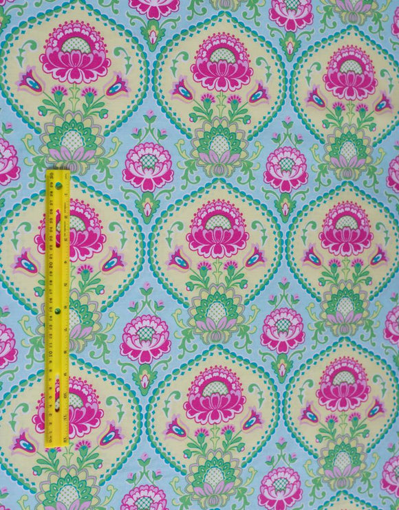 Quilting Fabric Lavinia by Michael Miller CX5908-AQUA-D