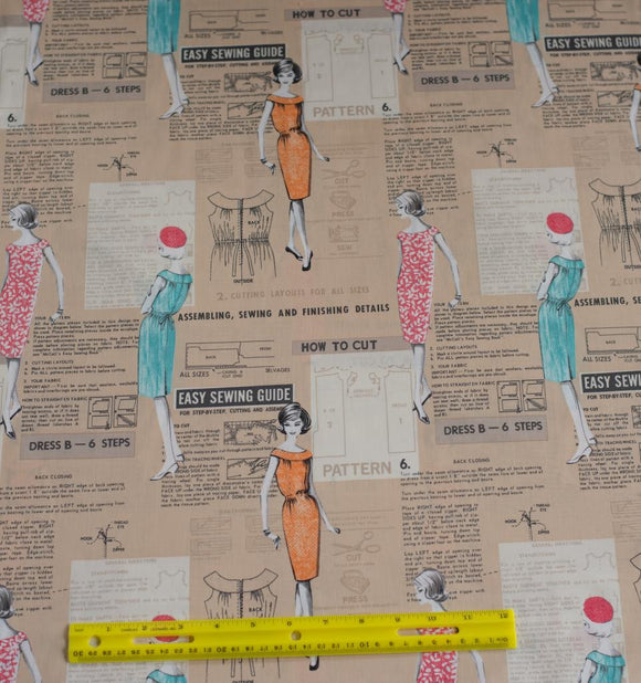 Quilting Fabric Make It Work by Michael Miller PC6028-TANX-D