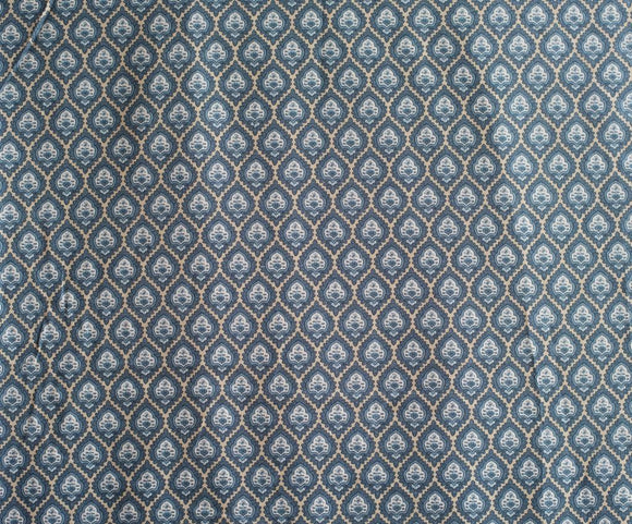 Quilting Fabric Rue Indienne (Indigo) from Moda Fabrics 13680 18