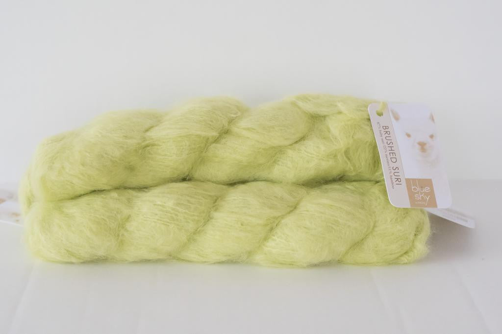 Blue Sky Fibers, Brushed Suri