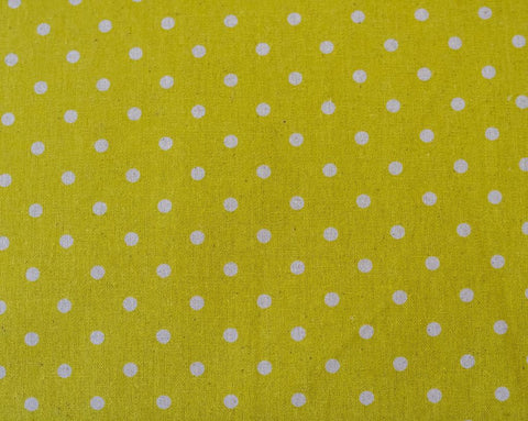 Quilting Fabric Moda Linens Mochi Dot Chartreuse