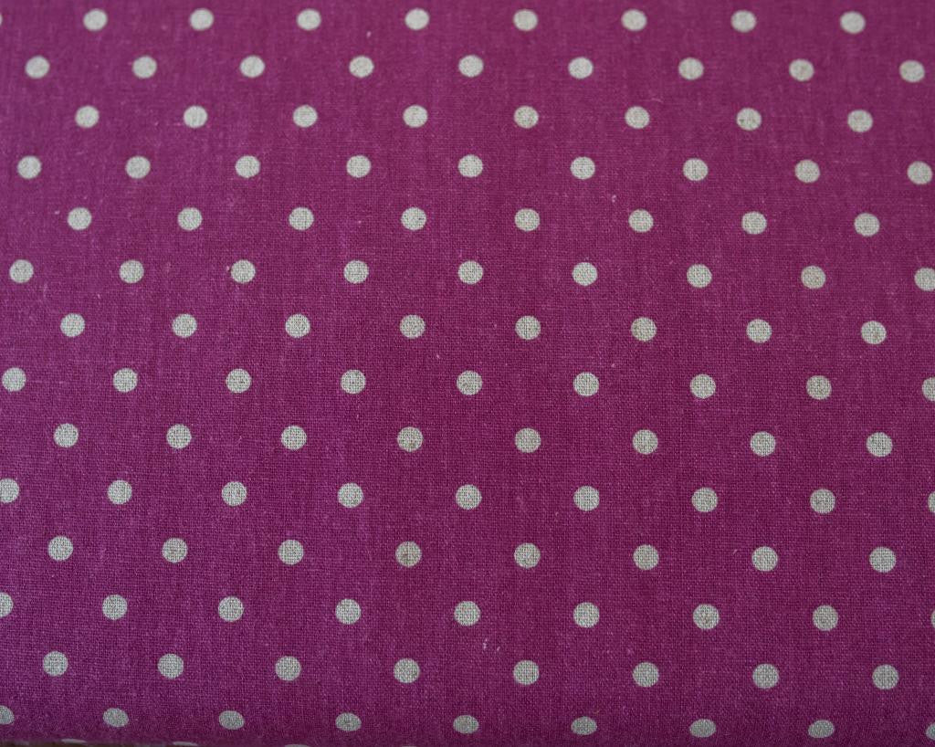 Quilting Fabric Moda Linens Mochi Dot Boysenberry