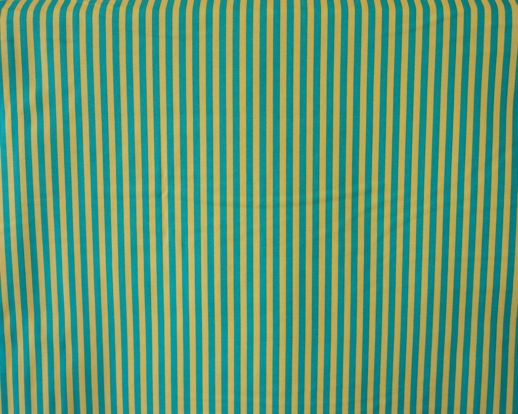 Quilting Fabric Michael Miller Clown Stripe CX3584-TEAL-D