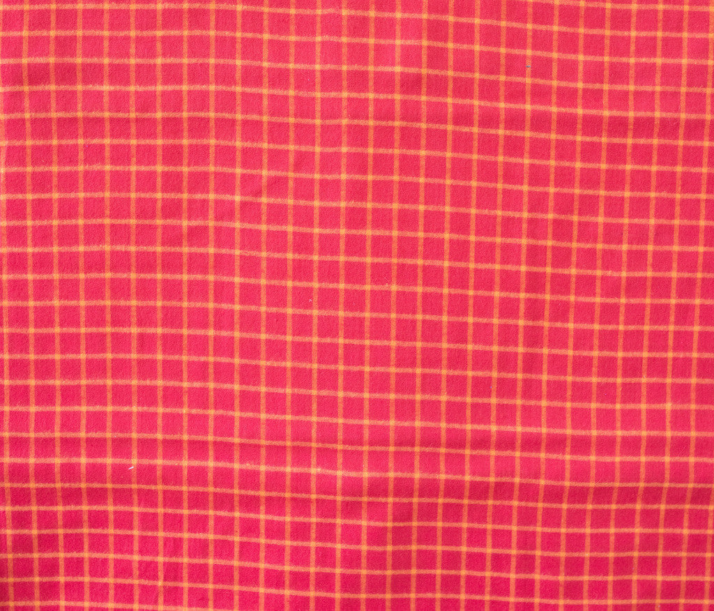 Quilting and Sewing Fabric Wee Wovens Bright by Moda . Item #12127 36  Red plaid