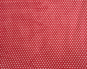 "Shannon Fabrics Swiss Dot Cuddle 58-60"" Wide, Scarlet/Snow"