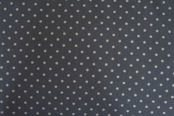 Quilting Fabric Moda Linens Mochi Dot Lead