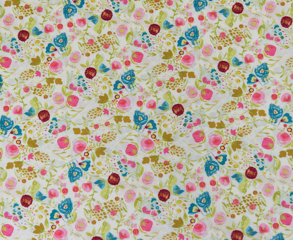Fabric Budquette Dayspring from Art Gallery, Emmy Grace Collection EMG-4607