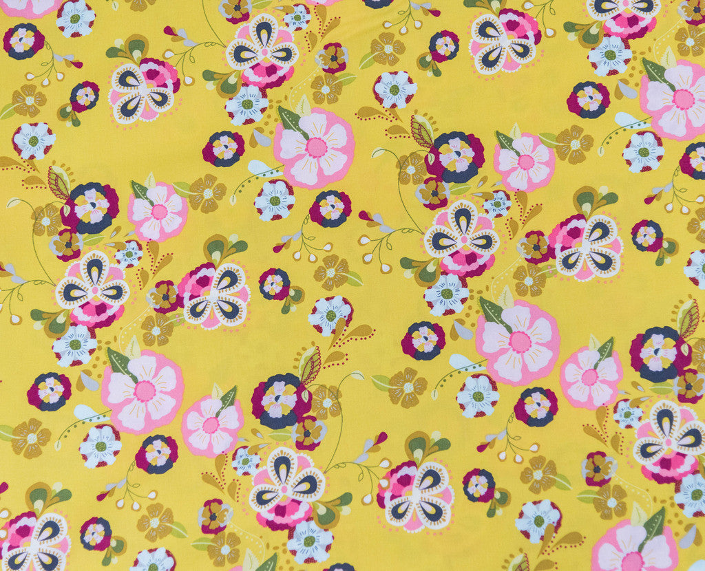 Fabric Floral Floats  from Art Gallery, Emmy Grace Collection EMG-5600