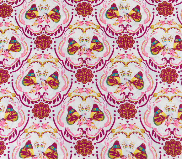Fabric Painted Ladie's Kiss from Art Gallery, Emmy Grace Collection EMG-5609