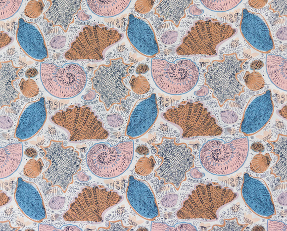 Fabric Conchology Sand from Art Gallery, Coastline Collection CTL-49909