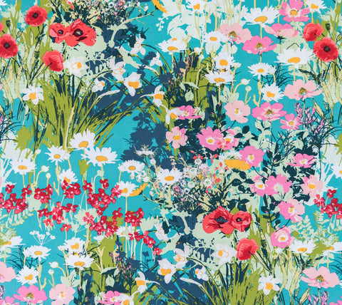 Fabric Mother's Garden Richfrom Art Gallery, Lavish Collection LAH-26800