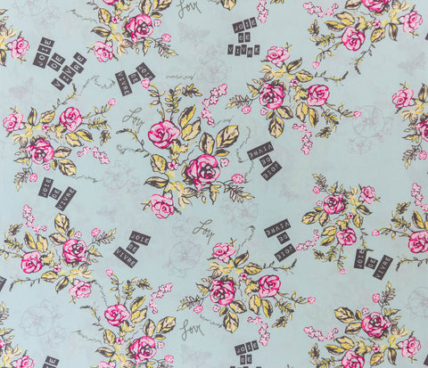 Fabric Joie De Vivre Beryl from Art Gallery, Cherie Collection CHE-9802