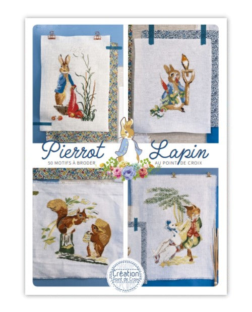 Cross stitch Magazine from France Creation Point de Croix, Special Issue: Pierrot Lapin, PETER RABBIT
