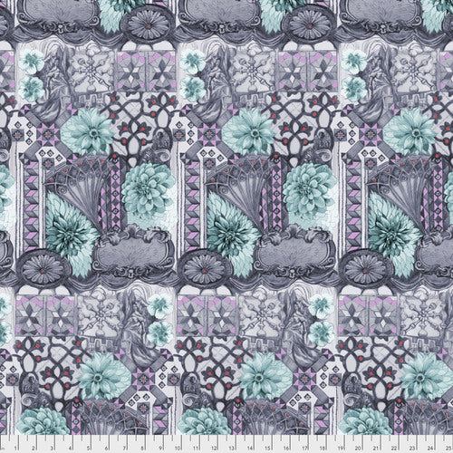 Fabric Tourist - Amethyst from Anna Maria Horner's Conservatory Collection for Free Spirit. PWAM001.AMETH