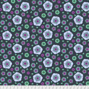 Fabric Gossip - Marine from Anna Maria Horner's Conservatory Collection for Free Spirit. PWAM002.MARIN