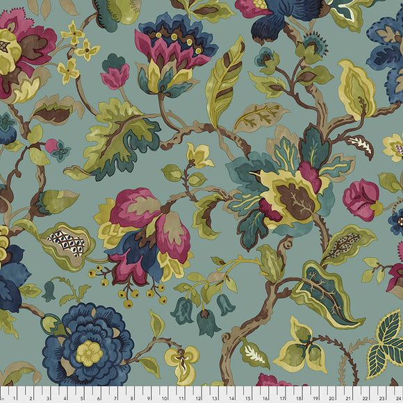 Fabric Amanpuri Large, color: Garden, from Cashmere Collection, Sanderson, for Free Spirit, PWSA010 GARDEN