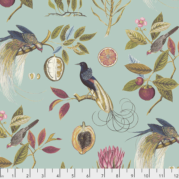 Fabric Paradesia, Garden, from Cashmere Collection, Sanderson, for Free Spirit, PWSA011.GARDEN