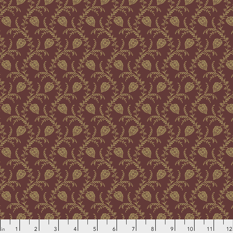 Fabric PELHAM, Spice, from Cashmere Collection, Sanderson, for Free Spirit, PWSA013.SPICE