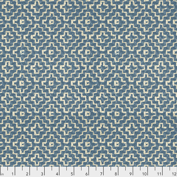 Fabric LINDEN, Garden, from Cashmere Collection, Sanderson, for Free Spirit, PWSA015.GARDEN