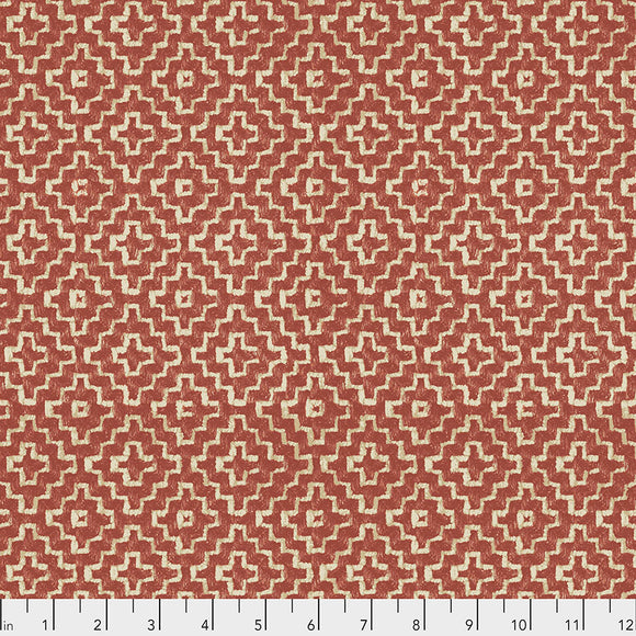 Fabric LINDEN, Spice, from Cashmere Collection, Sanderson, for Free Spirit, PWSA015.SPICE