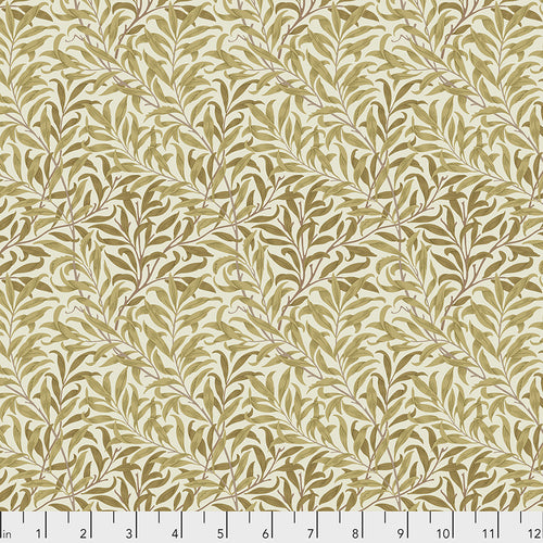 Fabric  Willow Boughs - Gold, from Standen Collection, Original Morris & Co for Free Spirit, PWWM030.GOLD