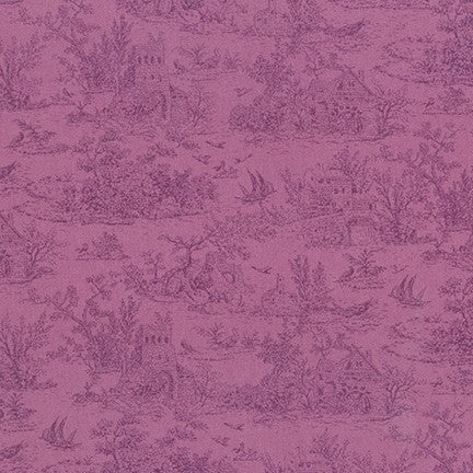 Fabric SRK-18766-22 VIOLET from Meredith Collection, from Robert Kaufman