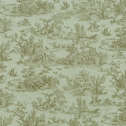 Fabric SRK-18766-7 GREEN from Meredith Collection, from Robert Kaufman