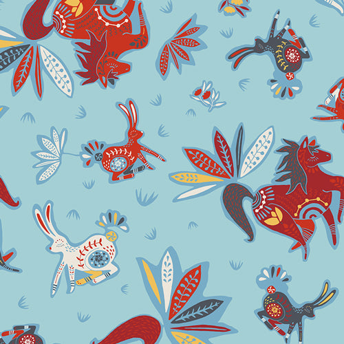 Fabric Zirkusbau Primary from Art Gallery Fabrics, Tallin Collection, TAL-65305