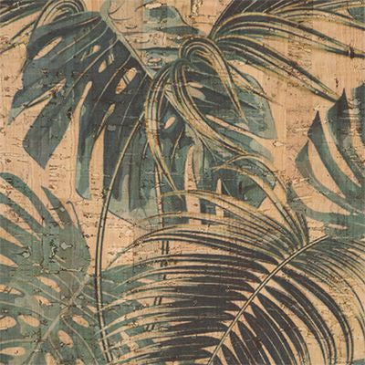 Cork Fabric, Jungle Leaves, Touch PRO Portugal,  28