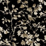 Quilting Fabric Serenade CX8545-BLAC-D from Michael Miller, Renaissance Collection